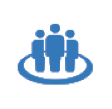 Pictogram representing the provision of a safe and enjoyable work environment in the NGK Group Code of Conduct.